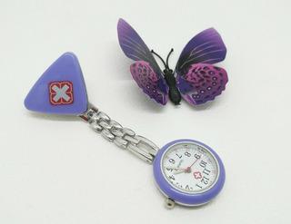 Relógio Para Enfermagem E Profissionais De Saúde Jaleco