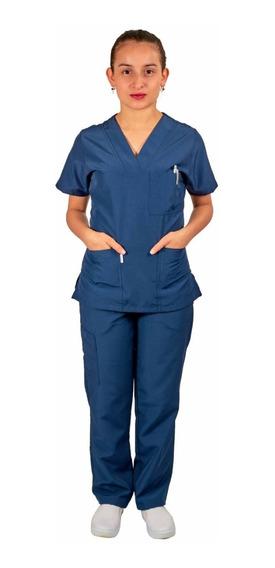 Uniforme Para Enfermera Clásico En Antifluido + Obsequio