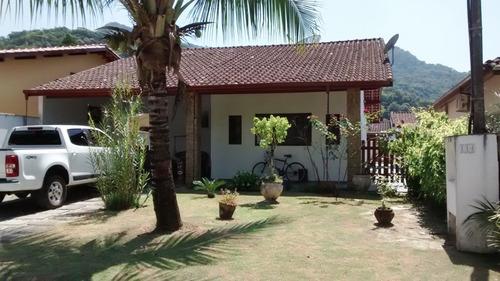 Casa Condominio Fechado 3 Dorm C/ Suite  Ubatuba L Norte Sp