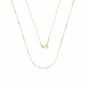 Corrente Ouro 18k Veneziana 50cm