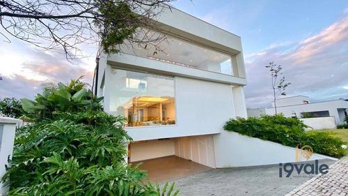 Linda Casa Com Piscina, 4 Dormitórios À Venda No Condomínio Alphaville Ii - Sjcampos/sp - Ca1719