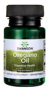 Oregano Oil 10:1 Extract 150mg 120 Sgels Antibiotico Natural