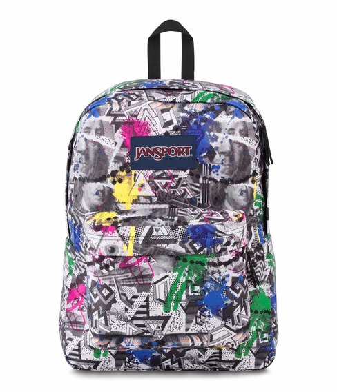 Mochila Jansport Superbreak Cash Money .. En Magimundo !!!
