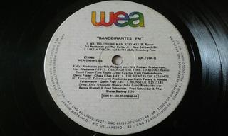 Lp Bandeirante Fm 1985 Original Pop Music Hits Da Época