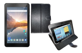 Tablet 16gb Android 8.1 Preto M7s Plus Wifi 1gb Ram + Capa