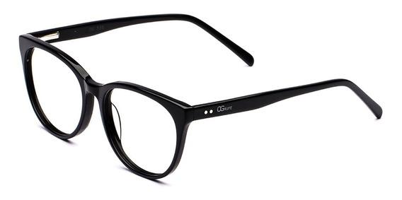 Armação Oculos Ogrife Og 538-c Feminino Com Lente Sem Grau
