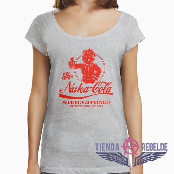 Remera De Mujer Nuka Cola Fallout