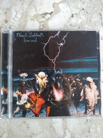 Cd Duplo Black Sabbath - Live Evil