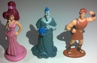 Kellogs Lote De 3 Personajes Hercules Raros Disney