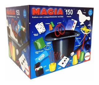 Juego De Magia Real 150 Trucos Con Galera Antex Casa Valente