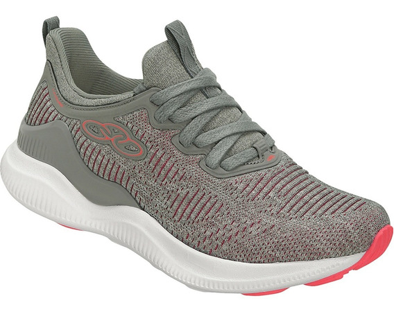Tenis Olympikus 04/2019 Leisure 558 Cinza/rs