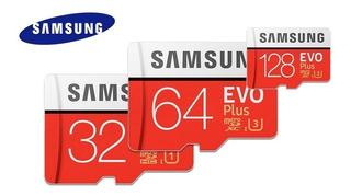 Cartão Samsung Micro Sd Evo Plus 64gb 100mb/s U3 4k+ Brinde