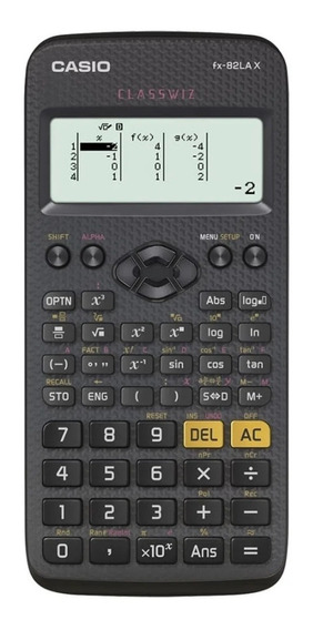 Calculadora Científica 275 Funções Casio - Fx-82lax