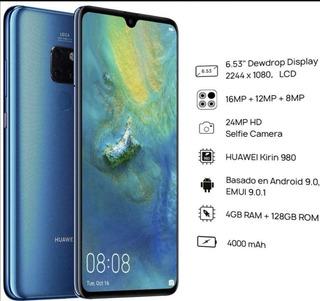 Huawei - Huawei Mate 20 Azul 128 Gb 4 Gb Ram Libre