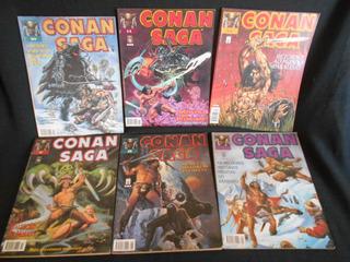 Coleção Conan Saga - Almanaque Especial - 12 Vols - Hq
