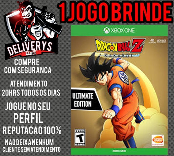 Dragon Ball Z Kakarot Xbox One Midia Digital + 1 Brinde