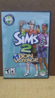 Cd - Rom - Pc - The Sims 2 - Bon Voyage - Duplo - Importado