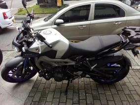 Yamaha Mt09abs Modelo 2015 Gris Km 12.919