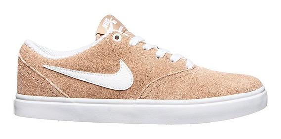 Zapatillas Nike Sb Check Solar Skate Urbana Damas Bq3240-200