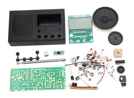 Kit Eletrônica Para Montar Rádio Fm Completo Treinamento