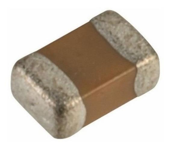 0,1uf 50v ( Kit C/ 50 ) Capacitor Smd 0805 100nf 50v