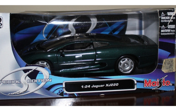 Jaguar Xj220 Maisto 1:24 Carros Miniaturas Réplicas Coleção