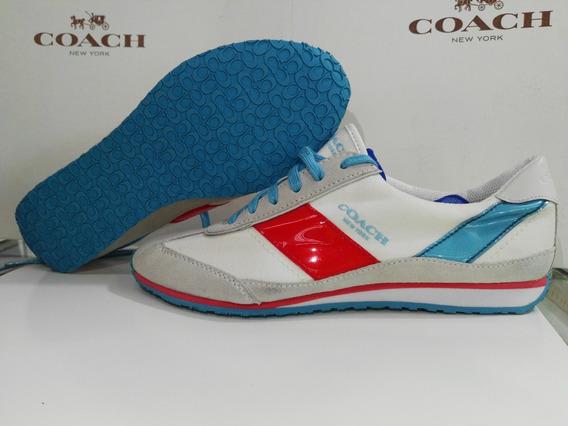 Tenis Coach Originales En Talla 24.5 Mex 7.5us Envio Gratis