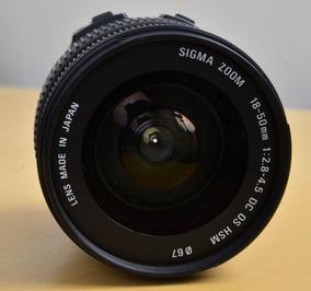 Lente Sigma 18-50mm 1:2.8-4.5 Hsm Para Nikon