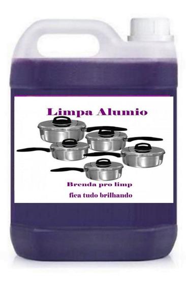 Limpa Alumínio Base Concentrada 50 Lts Materiais De Limpeza