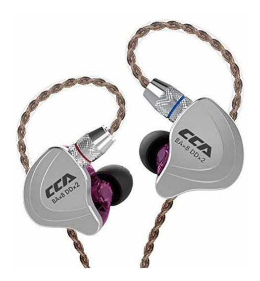 Fone Ouvido Cca C10 Sem Microfone Intra Auricular