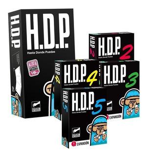 Hdp + Expansiones 2-3-4-5 - Bureau De Juegos - Humor Negro