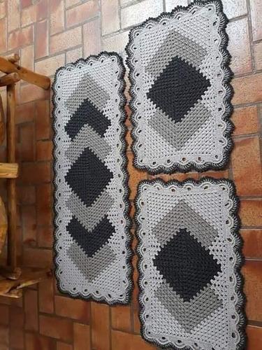 Imagem 1 de 1 de Jogo De Cozinha Croche