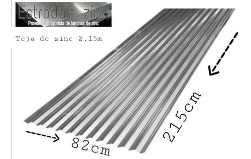 Teja De Zinc 2.15m C 35 - Unidad a $27900