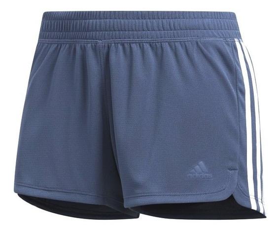 Short adidas Knit Pacer 3 Tiras De Mujer