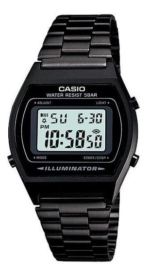 Relógio Casio Vintage Unisex B640wb-1adf Preto