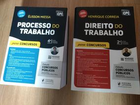 Livro Direito Do Trabalho + Proc. Do Trabalho 2017