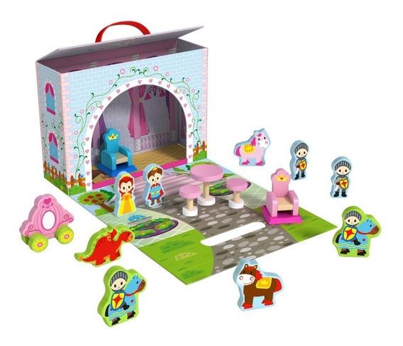 Brinquedo Caixa Divertida Castelo - Tooky Toy