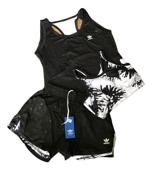 Conjuntos Deportivos Nike Y adidas Dama Short-camiseta-top