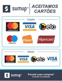2 Adesivo Da Máquina Cartão Sumup Crédito Mercado Livre