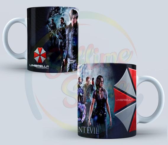 Tazas Geek - Resident Evil Umbrella - Linea Gamer