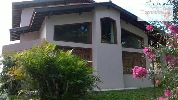 Casa Residencial Para Locação, Condomínio Vista Alegre - Sede, Vinhedo. - Ca0105