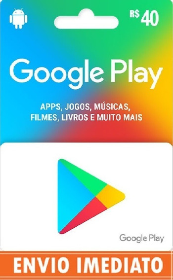 Pin Code Google Play Recarga 100 Pronta Entrega
