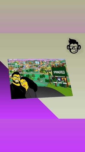 Quadros Personalizados - Os Simpsons