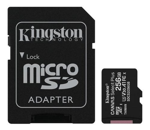 Tarjeta De Memoria Kingston 256g  Micsdxc Adaptador Sd 256gb