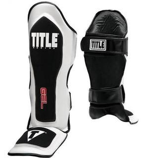 Espinilleras Kickboxing, Muay Thai, Mma Title Gel