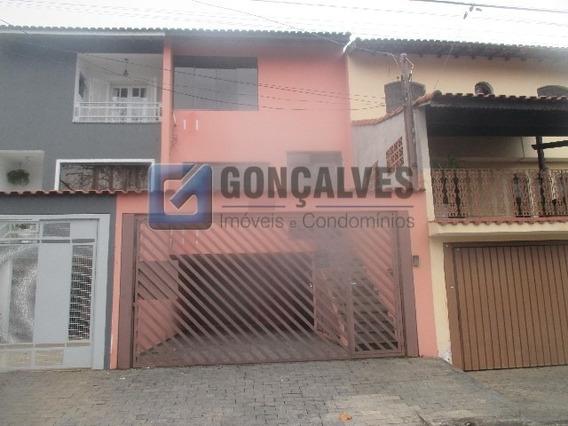 Venda Sobrado Santo Andre Vila Scarpelli Ref: 136408 - 1033-1-136408