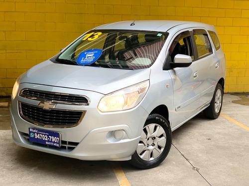 Chevrolet Spin Lt Bancos Couro Baixa Rodagem Metro Sao Lucas