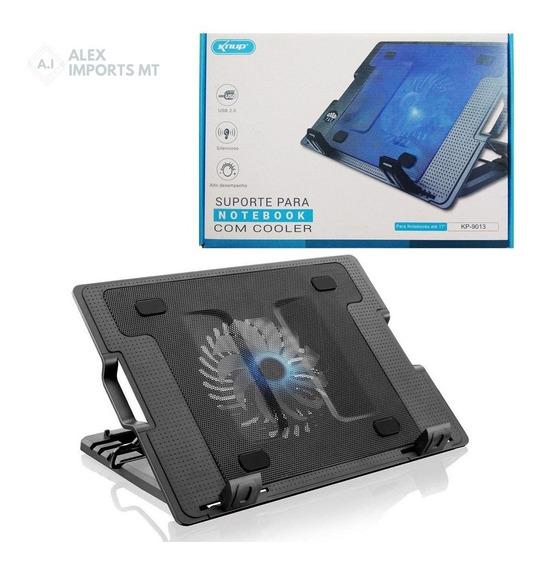 Suporte Base Cooler Notebook 15.6 Knup Kp-9014 Bom E Barato
