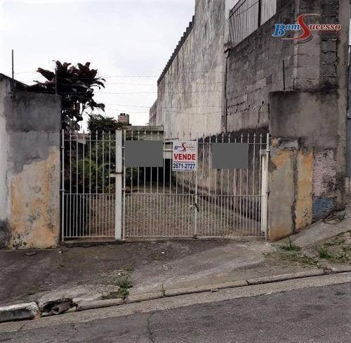 Imagem 1 de 1 de Terreno À Venda, 200 M² Por R$ 375.000,00 - Vila Nova York - São Paulo/sp - Te0314