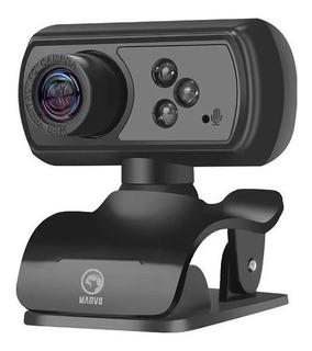 Webcam Marvo Mpc01 Full Hd Pc 1080p Zoom Streaming